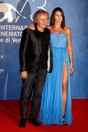 VENICE, ITALY - SEPTEMBER 01:  Renzo Rosso and Arianna Alessi attend the premiere of 'Summertime' during the 73rd Venice Film Festival at Sala Giardino on September 1, 2016 in Venice, Italy.  (Photo by Andreas Rentz/Getty Images)