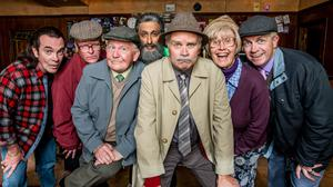 The cast of Still Game will be reunited for a final series in February (BBC Scotland/PA)