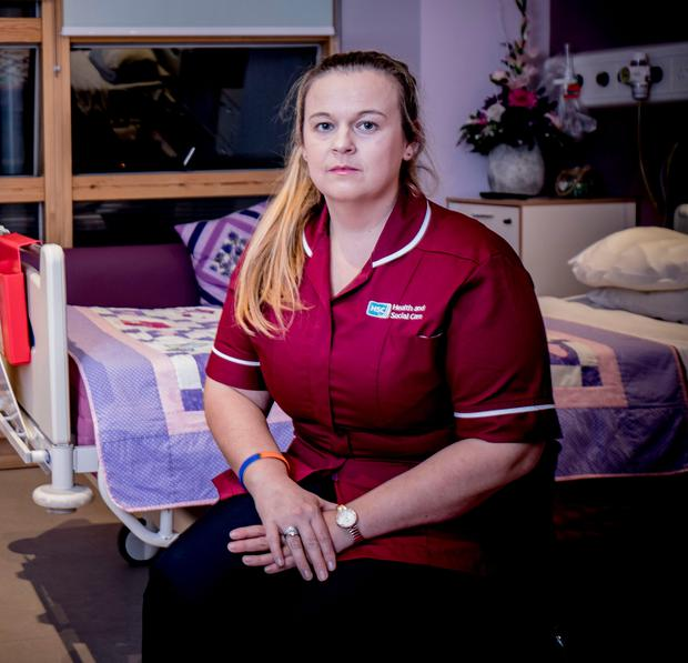 Guiding light: Melissa Crockett , the Western Trust's childbirth and pregnancy loss specialist midwife