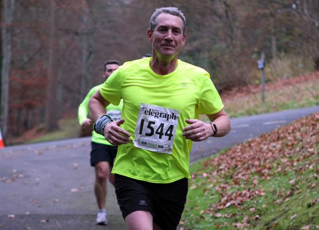 Mandatory Credit - Picture by Freddie Parkinson/Press Eye © Saturday 3rd December 2016 Belfast Telegraph Run Forest Run Loughgall. Loughgall Country Park, 11-14 Main Street, Loughgall, Armagh.  Brian Reed 10K Newtownabbey