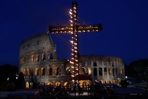 Dark past: the Colosseum was the scene of some of the Roman Empire's greatest brutalities