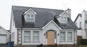 The Ballymoney house where Brian McIlhagga was murdered in 2015