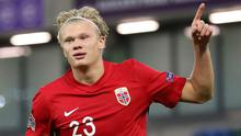 Norway's Erling Braut Haaland delivered a master class at Windsor Park.