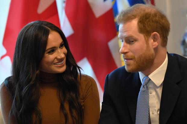Harry and Meghan have grown some of the produce which will be on their Thanksgiving table. Daniel Leal-Olivas/PA Wire