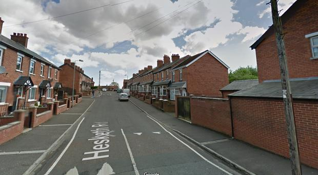 Hesketh Road, in north Belfast