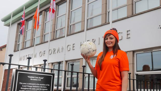 Dutch fans have been invited to visit the Museum of Orange Heritage in Belfast