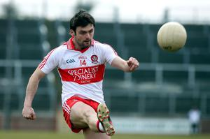 Derry's Eoin Bradley was taken off in final as Derry pushed for win