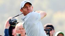 Rory McIlroy is tied for the lead at Pacific Palisades.