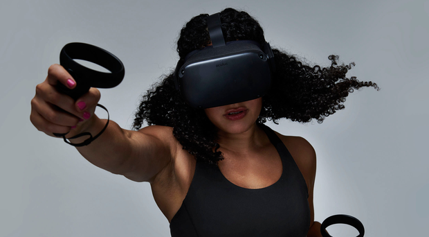 Game on: a virtual reality boxing workout hits the spot