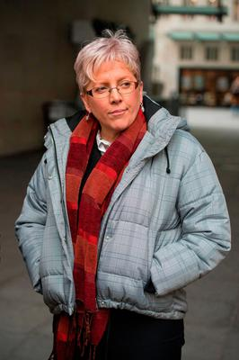 Ex-China editor Carrie Gracie