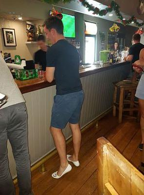 Co Down man gains entry to Australian bar after buying new shoes.