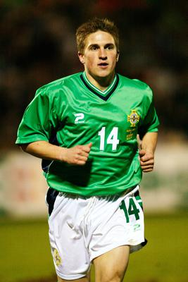 Paul McVeigh won 20 caps for Northern Ireland