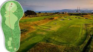 The 16th at Royal Dublin (Dolly) is 285 yards and a par 4, and is ranked 24th on our list.