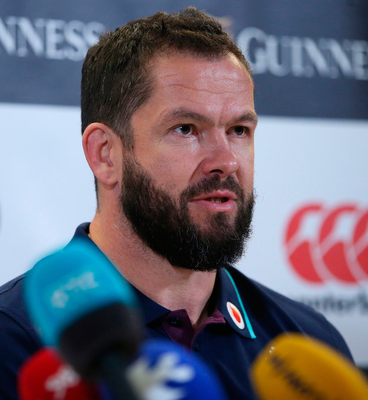 Very best: Andy Farrell feels Rory Best is one of world's top players