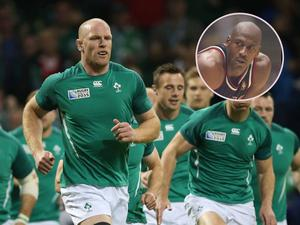 Former Ireland captain Paul O'Connell has similarities with basketball legend Michael Jordan, according to Jordi Murphy.