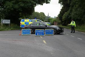 The scene of the fatal crash.  Pictures by David Conachy