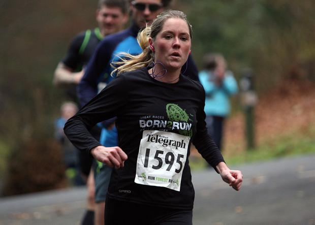 Mandatory Credit - Picture by Freddie Parkinson/Press Eye © Saturday 3rd December 2016 Belfast Telegraph Run Forest Run Loughgall. Loughgall Country Park, 11-14 Main Street, Loughgall, Armagh.  Victoria Winters 10K Dromore
