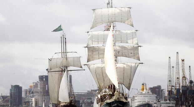 The Tall Ships festival begins in Belfast this Thursday 2 July.