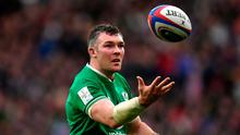 Peter O'Mahony was one of the few shining lights for Ireland