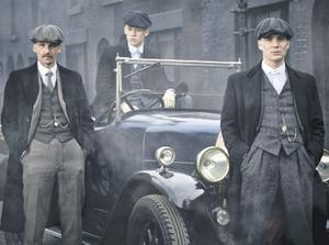 Gritty tone: Peaky Blinders returns to BBC Two