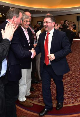 Pacemaker Press 09/03/2019 Party Leader, Robin Swann during the Ulster Unionist Party Annual General Meeting and Spring Conference at the Park Avenue Hotel in Belfast on Saturday. Pic Colm Lenaghan/Pacemaker