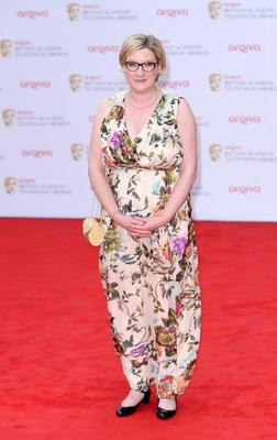 Sarah Millican arriving for the 2013 Arqiva British Academy Television Awards at the Royal Festival Hall, London. PRESS ASSOCIATION Photo. Picture date: Sunday May 12, 2013. See PA story SHOWBIZ Bafta. Photo credit should read: Dominic Lipinski/PA Wire