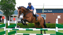 Paul grew up with showjumping and would have liked to do it for a living