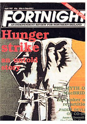 Influential: editions of Fortnight magazine throughout the years