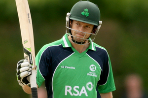 Ed Joyce steered Ireland to the stunning victory over West Indies