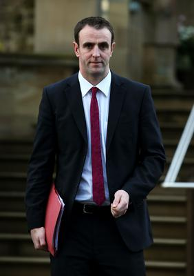 Mark H Durkan said many students were in housing and financial stress due to coronavirus (Brian Lawless/PA)