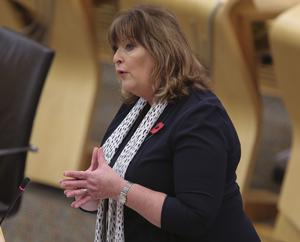 Fiona Hyslop has said the Scottish Government has been 'exhaustive in our consideration of the options available' to support the firm (Fraser Bremner/Daily Mail/PA)