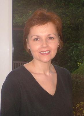 Denise O'Neill as she looked with her hair dyed
