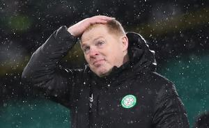 Neil Lennon has found himself in the spotlight this season following some disappointing results (Jane Barlow/PA)