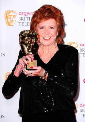 Cilla Black with the Special Award, at the Arqiva British Academy Television Awards 2014 at the Theatre Royal, Drury Lane, London. Ian West/PA Wire.