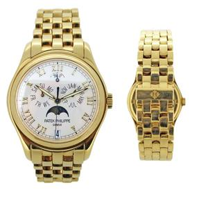 An 18ct Patek Philippe watch worth £42,000.