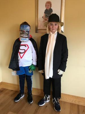 Aodhan (8) and James Sloan (10), Newry