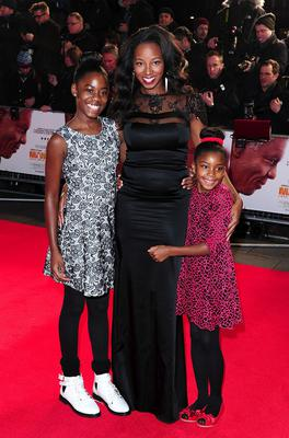 Jamelia with her daughters Teja and Tiani
