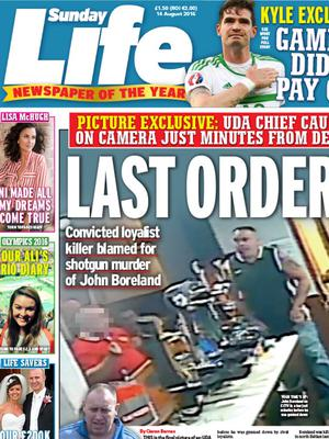 Guns, gangsters and grudges. Sunday Life lifts the lid on the John Boreland murder and reveals that the chief suspect is a convicted killer with links to the South Belfast UDA.