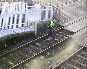 CCTV footage from Translink - Moira