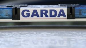 Gardai said the driver may have been in possession of a suspected firearm (Niall Carson/PA)