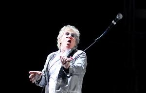 10.06.13. PICTURE BY DAVID FITZGERALD Roger Daltrey of The Who performing in the Odyssey Arena, Belfast last night