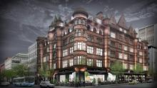 An artist's impression of the hotel planned for Belfast's Scottish Mutual building
