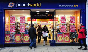 Poundworld also went under in 2018 (Anna Gowthorpe/PA)