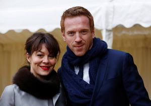 Actors Damian Lewis and Helen McCrory arrive for a reception for the British Film Industry held by Queen Elizabeth II and the Duke of Edinburgh at Windsor Castle