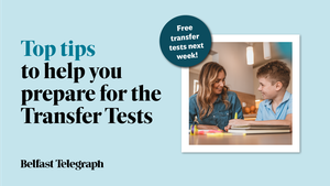 To get your free GL and AQE style practice papers, purchase the Belfast Telegraph between Monday November 30 and Saturday December 5, or subscribe to Belfast Telegraph online.
