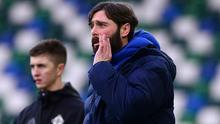 Glenavon boss Gary Hamilton was far from pleased with decisions during his side's 8-1 loss to Linfield.