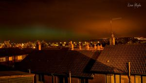 From Newtownabbey looking over Belfast lough by Liam Hughes.