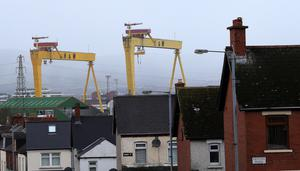 Samson and Goliath cranes in East Belfast
