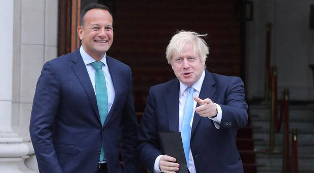 Boris Johnson is to meet Taoiseach Leo Varadkar for Brexit talks (Niall Carson/PA)