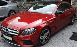 A Mercedes seized by the Criminal Assets Bureau (An Garda Siochana/PA)